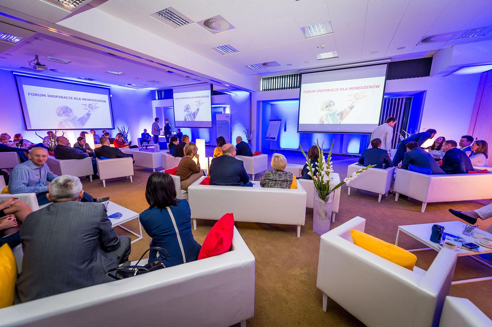 Organizacja forum inspiracji dla menedżerów - Relago